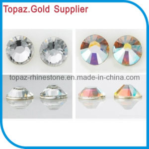 Non Hot Fix Stone Flat Back Rhinestone Crystal Ab in Ss16 (FB-SS16 CLEAR/CRYSTAL AB) pictures & photos