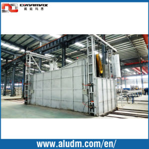 9 Baskets Aging Oven in Three Floors Double Door in Aluminum Extrusion Machine pictures & photos
