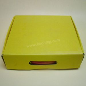 Corrugated Green Packaging Box for Express OEM Welcome pictures & photos