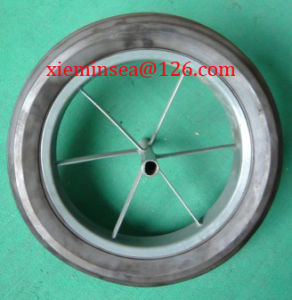 15*3 Solid Rubber Wheel pictures & photos