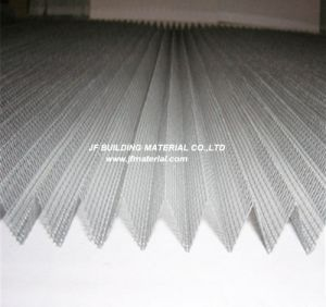 Fiberglass/PP/Polyester Pleated Insect Screen Plisse Screen pictures & photos
