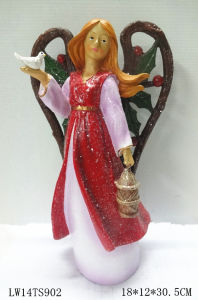 Resin Fairy Christmas Home and Garden Decoration pictures & photos