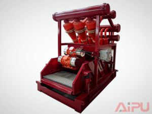 Well Drilling Solids Control Mud Cleaner Supplier pictures & photos