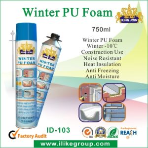 High Quality Winter PU Foam Spray pictures & photos