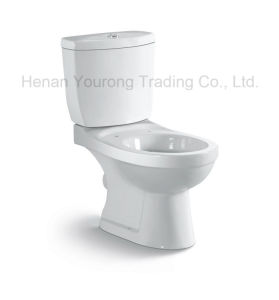Oblique Thrust Type Two-Piece Toilet (No. YR11)