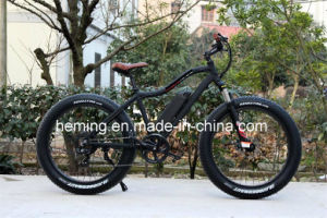 Moped with Pedals 26 Rear Motor Electric Bicycle/E-Bike pictures & photos