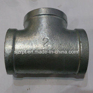 Banded Galvanized Tee Malleable Iron Pipe Fittings pictures & photos