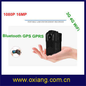 WiFi / Bluetooth / 4G / 3G / GPS Police Body Worn Camera with IR Night Vision pictures & photos
