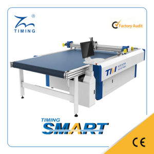 Single Layer Fabric Cutting Machine pictures & photos