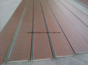 Embossed Metal Coating Decorative Heat Insulation Panel for House Exterior Wall pictures & photos