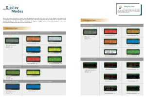 1602 Characters/Graphic Yellow-Green display mode, white-blue cheap LCD Display price pictures & photos