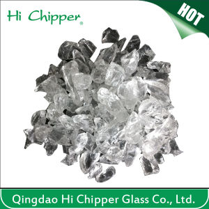 Light Grey Blasting Glass Sand pictures & photos