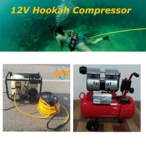 12V550W Oil Free Scuba Diving Compressor for Hookah System pictures & photos