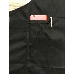 Vintage Black Denim Shop Apron with Tool Pockets pictures & photos