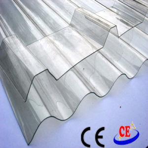 Best Quality Corrugated Polycarbonate (PC) Sheet with UV Protection