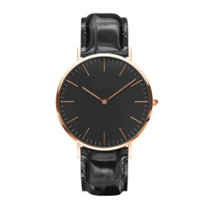 Mens Leather Watch Fashion Casual Wristwatch pictures & photos