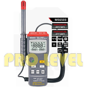 Professional Digital Thermometer and Hygrometer (MS6503) pictures & photos