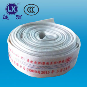 PVC Lining Fire Hose Fire Products Engineering Fire Hose pictures & photos