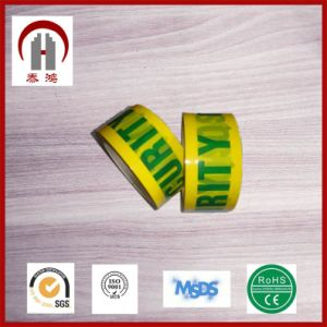 Printed Custom Transparent Tape for Decoration and Carton Sealing pictures & photos
