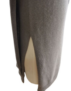 100%Cashmere Women Knitted Decorative Sleeve Sweater pictures & photos