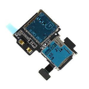 SD SIM Card Reader Holder Slot Flex Cable Ribbon for Samsung Galaxy S4 Gt I9505 pictures & photos