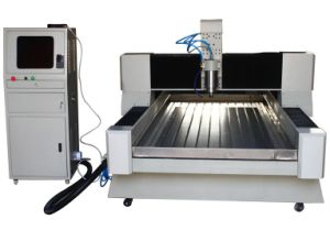 High Speed 5.5kw CNC Engraving Machine on Stone pictures & photos