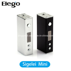 Newest E-Cigarette Sigelei Mini Box Mod with 18650 Battery pictures & photos