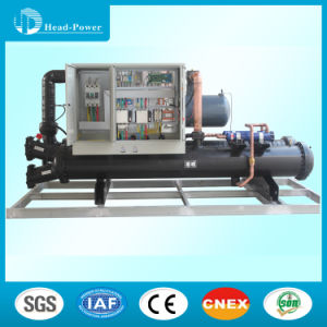 60tons R22 Water Cooled Screw Water Chiller pictures & photos