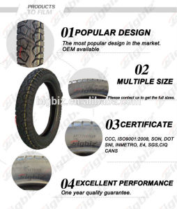 Cheap Cross Motorcycle Tire and Tube of 3.00-18 pictures & photos