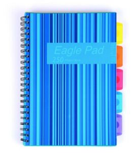 Spiral Writting Notebook with Index Made in China pictures & photos