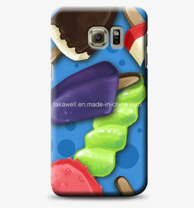 Custom Design Water Transfer Printing Smooth Hard Glossy PC Cell Phone Case for Samsung Galaxy S6 Mobile Cover pictures & photos