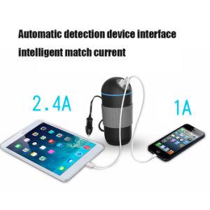 12V/24V to 110V/220V/180W, USB Car Power Inverter with Oxygen Bar pictures & photos