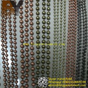 Retaining Chain, Ball Chain Curtain, Curtain Wall Covering pictures & photos