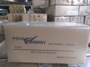 12V9ah Sealed Maintenance Free Lead Acid Solar Battery pictures & photos
