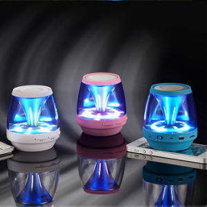 2015 New Arrival Wireless Speaker with LED Night Light