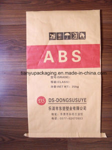 Recycle Use 25kg Brown Paper Bag with Plastic Laminated pictures & photos