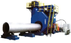 Qgw Shot Blasting Equipment for Internal and Outer Pipe Cleaning