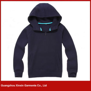 Custom Fashion Design Zipper up Cheap Cotton Hoodies for Men for Sports (T08) pictures & photos