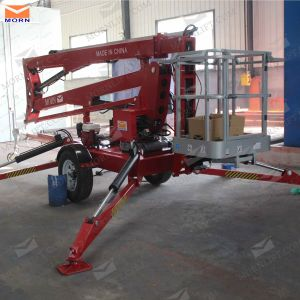 14m Morn Diesel Power Towable Boom Lift pictures & photos