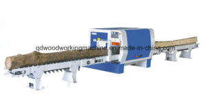 Round Log Multi-Rip Saw Machine for Woodworking pictures & photos