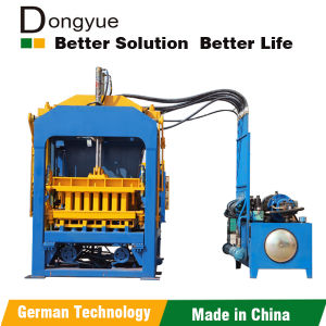 Concrete Fly Ash Brick Machine Qt4-15 Dongyue Machinery Group pictures & photos