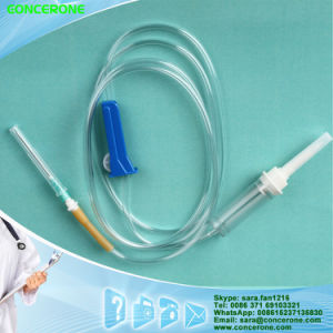 Intravenous Fluids Infusion Set with Fluid Filter pictures & photos