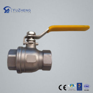 2PC Economic Type Ball Valve in Stainless Steel pictures & photos