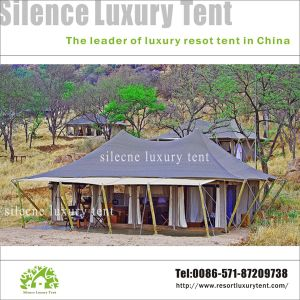 Resort Glamping Tent Proper for Gobi and Desert pictures & photos