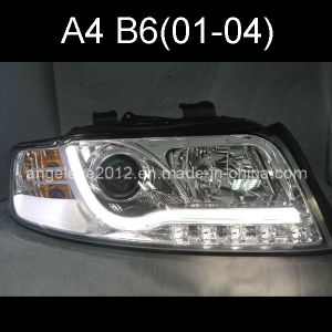 A4 LED Strip Auto Light for Audi 2001-2004 Year Silver