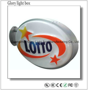 3D Outdoor LED Blister Light Box Vacuum Formed Sign pictures & photos