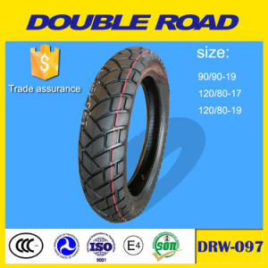Hot Sale Pattern in South America 120/80-18 Tubeless Motorcycle Tire pictures & photos