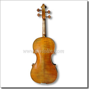 Hand Made 4/4 Master Antique Style Conservatory Violin (VHH1200) pictures & photos