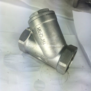 Stainless Steel Y Type Check Valve pictures & photos