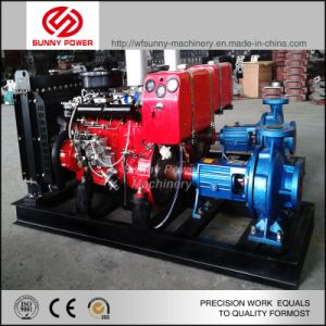 3 Inch Fire Fighting Diesel Water Pump with Valves and Pipe Fittings pictures & photos